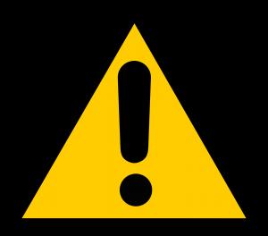 segno di pericolo