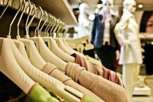 vestititi di un negozio
